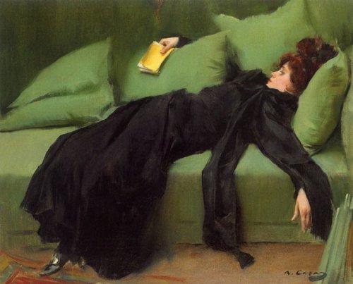 paperimages:  Ramón Casas, 'Young Decadent', 1899