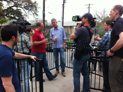 BEHIND THE SCENES | No Reservations: Austin