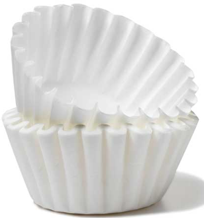 "Tips and Tricks - Coffee Filters Who knew coffee filters could be used for more than just making coffee.  I was forwarded this email and just had to share it with all of you!  Can't wait to try a lot of these tips & tricks out! 1. Cover bowls or dishes when cooking in the microwave. Coffee filters make excellent covers. 2. Clean windows, mirrors, and chrome…  Coffee filters are lint-free so they'll leave windows sparkling. 3.  Protect China by separating your good dishes with a coffee filter between each dish. 4.  Filter broken cork from wine.  If you break the cork when opening a wine bottle, filter the wine through a coffee filter. 5.  Protect a cast-iron skillet.  Place a coffee filter in the skillet to absorb moisture and prevent rust. 6.  Apply shoe polish.  Ball up a lint-free coffee filter.  7.  Recycle frying oil.  After frying, strain oil through a sieve lined with a coffee filter. 8.  Weigh chopped foods.  Place chopped ingredients in a coffee filter on a kitchen scale. 9.  Hold tacos.  Coffee filters make convenient wrappers for messy foods. 10.  Stop the soil from leaking out of a plant pot.  Line a plant pot with a coffee filter to prevent the soil from going through the drainage holes. 11.  Prevent a Popsicle from dripping.  Poke one or two holes as needed in a coffee filter. 12.  Do you think we used expensive strips to wax eyebrows?  Use strips of coffee filters..13.  Put a few in a plate and put your fried bacon, French fries, chicken fingers, etc on them..  It soaks out all the grease. 14.  Keep in the bathroom.  They make great ""razor nick fixers..""15.  As a sewing backing.  Use a filter as an easy-to-tear backing for embroidering or appliquéing soft fabrics.16.  Put baking soda into a coffee filter and insert into shoes or a closet to absorb or prevent odors.17.  Use them to strain soup stock and to tie fresh herbs in to put in soups and stews.18  Use a coffee filter to prevent spilling when you add fluids to your car..19.  Use them as a spoon rest while cooking and clean up small counter spills.20.  Can use to hold dry ingredients when baking or when cutting a piece of fruit or veggies.  Saves on having extra bowls to wash.21.  Use them to wrap Christmas ornaments for storage.22.  Use them to remove fingernail polish when out of cotton balls.23.  Use them to sprout seeds.  Simply dampen the coffee filter, place seeds inside, fold it and place it into a zip-lock plastic bag until they sprout.24. Use coffee filters as blotting paper for pressed flowers.  Place the flowers between two coffee filters and put the coffee filters in phone book.25.  Use as a disposable ""snack bowl"" for popcorn, chips, etc.  26.  Great in the tool room when separating nails and screws then use in to bottom of containers to remove moisture and prevent rust."