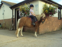 My niece and her pony! :)