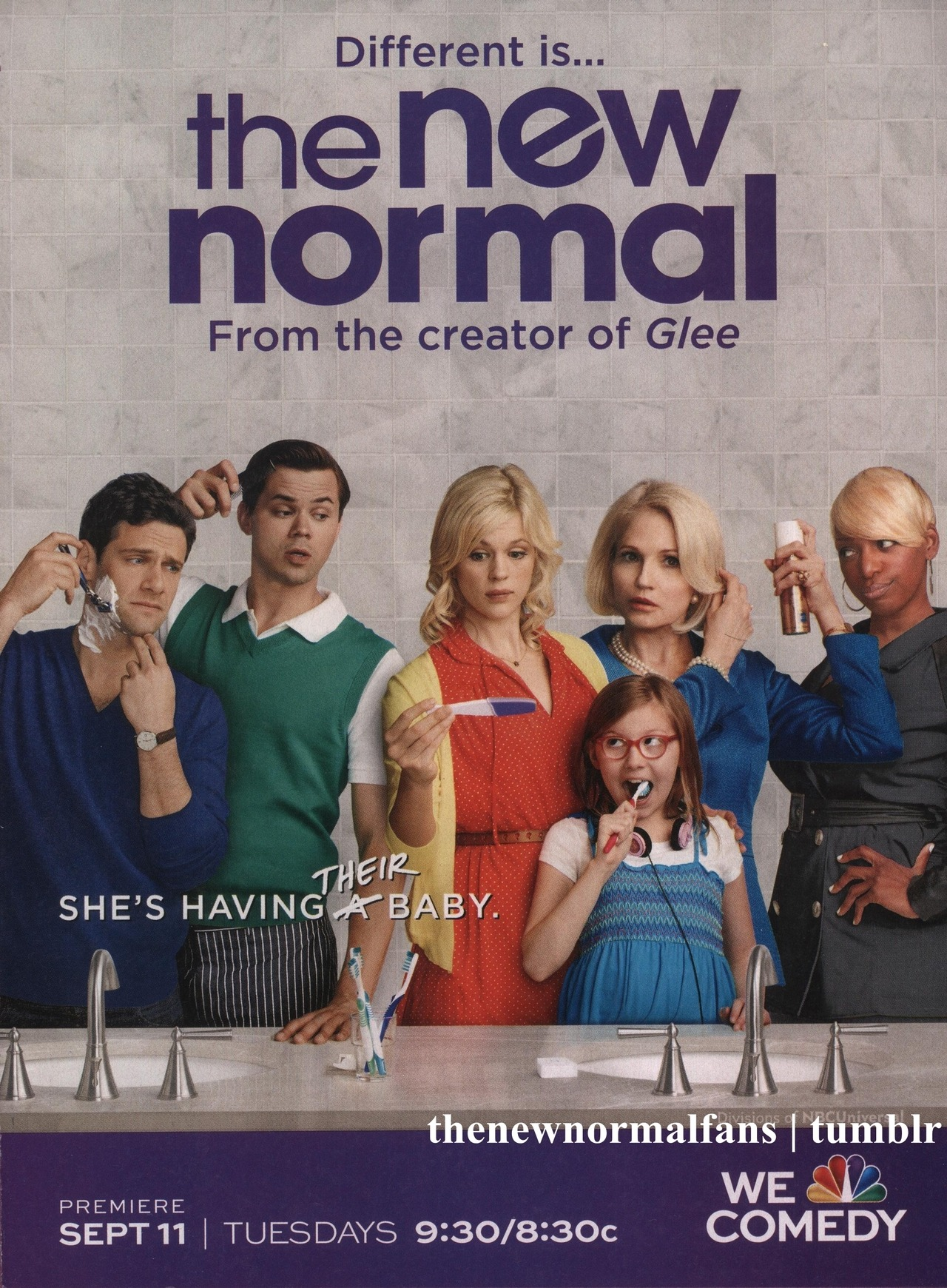 An ad for 'The New Normal' in the September 10 issue of In Touch Weekly