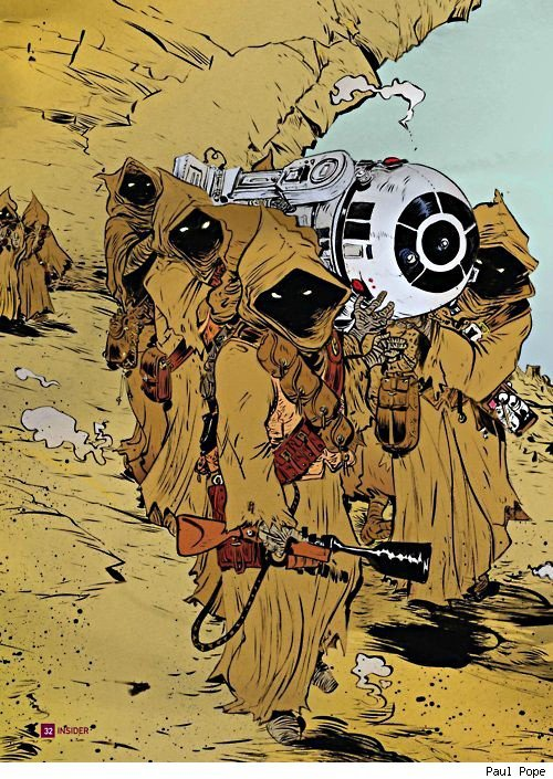 Star Wars | by Paul Pope  {via brianmichaelbendis}