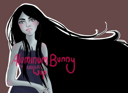 Random Marceline fanart because I can't think of anything else to draw…and oh man, there's so much wrong with the line art! LOL