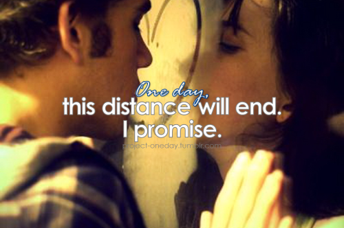 project-oneday:  One day, this distance will end. I promise. | Project One day,*One day, proudly presents One Love: a LDR community directory.