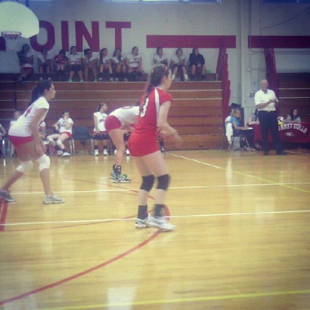 #Janey is the volleyballerest. #volleyball #br00tal #honeybooboo #sistershit  (Taken with Instagram)
