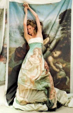 Birth of Venus dress…Raimundo Bundi (Barcelona)