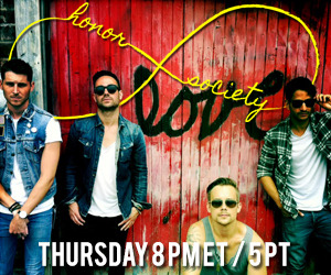 Honor Society MTV VMA Pre-show Tune in Thursday starting at 8PM ET / 5PM PT as the band recaps The Summer of Love Tour with Allstar Weekend, their new album, upcoming shows and more! They will be playing a couple songs from their new album so you won't want to miss it!