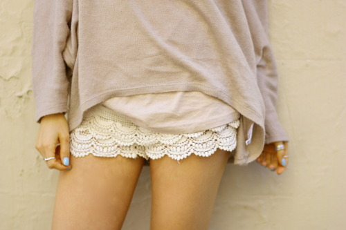 New shorts :) Sneak peak of tomorrows blog post ttp://tickledpink.alphie-eve.com http://aleygreenblo.tumblr.com