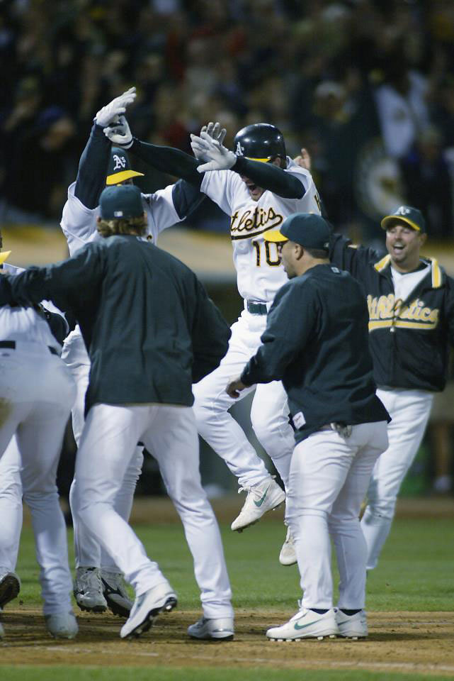 oaklandathletics:  Happy 10th Anniversary of the 20-Game Win Streak