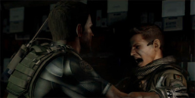 bsaa-sniper:  fyeahchrisredfield:  Probably my favorite screencap ever.Bad things happen when you poke the bear, Piers.  Point taken. Now back to your place.