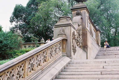 aphorismic:  Central Park Stairs by Dottie B. on Flickr.
