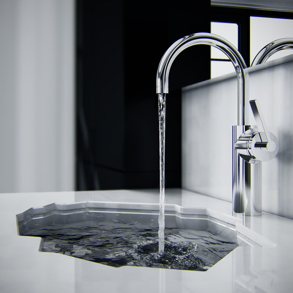 inspirezme:  Antarctic inspired ice shaped and sculptured bathroom sink by KO Architects  [via: industrialdesignserved]