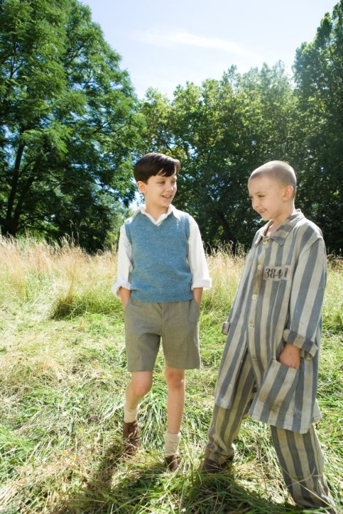 uhgly:  the boy in the striped pajamas ♡