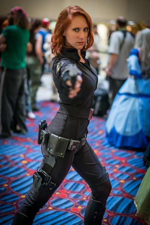 The Avengers Black Widow | DragonCon 2012  Ill have nicer ones up of this costume, but I found this online and really liked it.