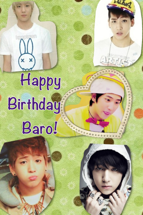 Happy 20th Birthday Baro xD