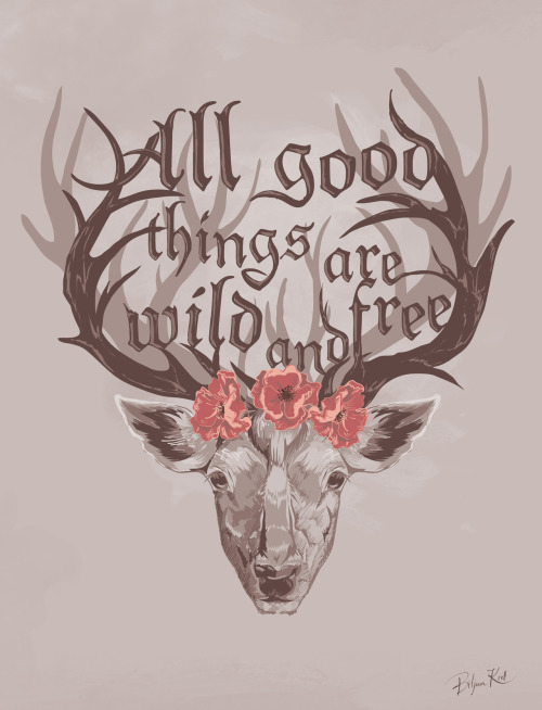 (via All Good Things Art Print by Biljana Kroll | Society6)