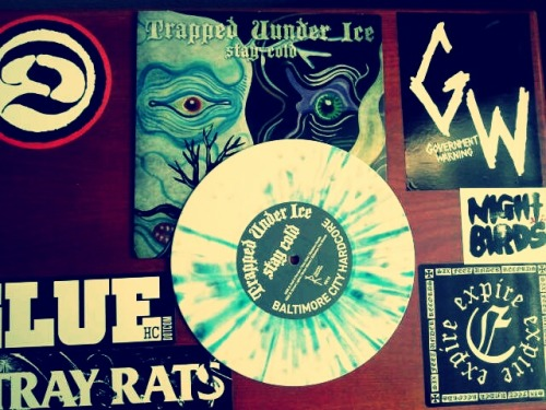 "sweatofanightmare:  Trapped Under Ice - Stay Cold 7""  looks so cool"