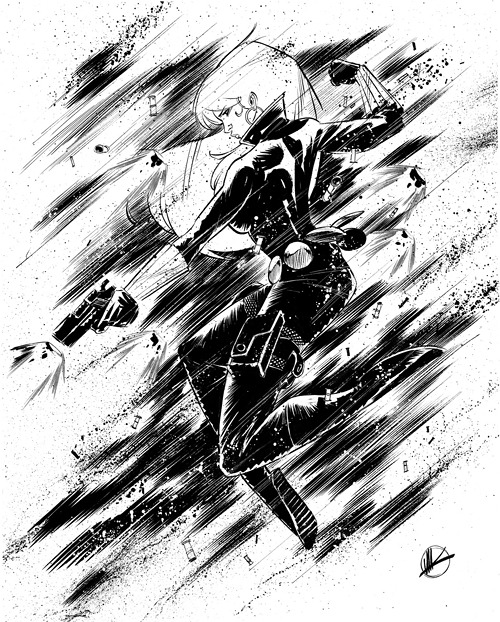 Black Widow, by Matteo Scalera