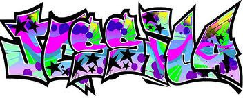 My name in graffiti!