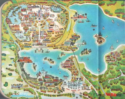 Take a visit to 1971 Walt Disney World - there was a wave machine?