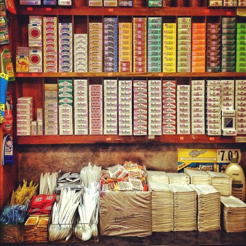 caseyneistat:  really appreciate the organization level at the bodega (Taken with Instagram)