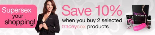 (via Get 10% off Tracey Cox toys when you buy 2 from her brand - discount shows in basket)