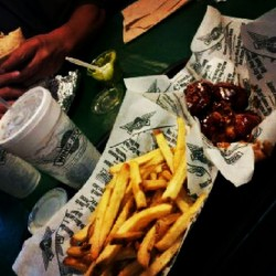 And we meet again …. #woopwoop #WingStop  (Taken with Instagram)
