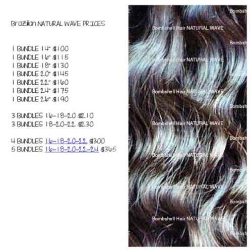 FOLLOW @bombshellflaws for more GREAT prices for 100% VIRGIN HAIR !!!! You can't get this in a Beauty Supply Store ! (Taken with Instagram)