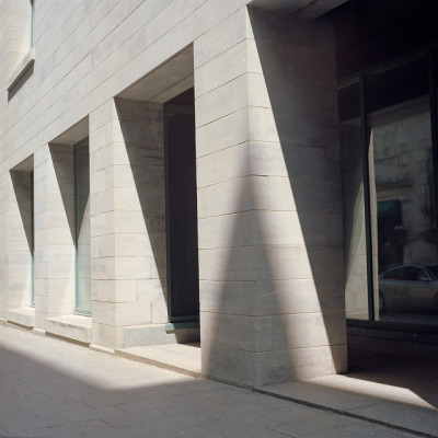Shadow and Concrete on Flickr.Via Flickr : Yashica MAT 124-G On kodak portra 160 —————————————— I see the world in lines of perspective.