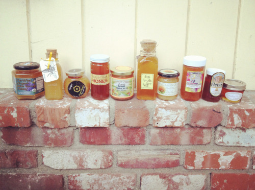 We can't eat all this honey without you! JOIN US this Saturday for our 2ND ANNUAL HONEY TASTING and help us pick this year's winners ♥ http://www.facebook.com/events/176160899175521/http://www.meetup.com/HoneyLove/events/72446912/