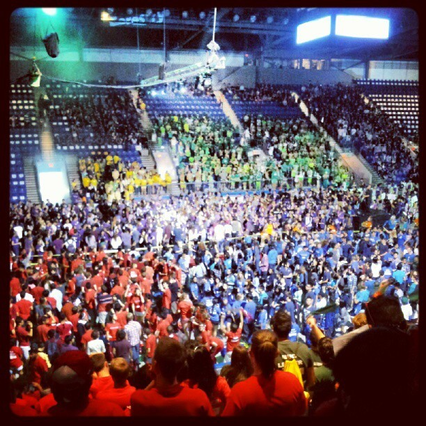 Imagine UBC Pep Rally (Taken with Instagram)