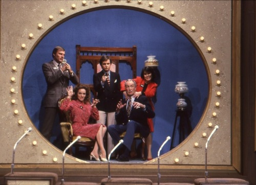 Family Feud, featuring Adam West, Burt Ward, Yvonne Craig, Lee Meriwether, & Vincent Price.
