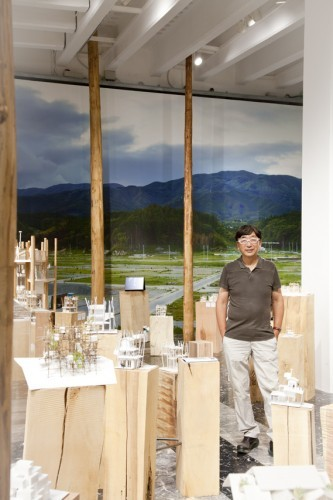 "Venice Biennale 2012: Photos of the Japanese Pavilion Photographer Patricia Parinejad has shared with us her images from the Japanese Pavilion at the 13th Venice Architecture Biennale. Presenting ""Architecture. Possible here? Home-for-all"", the exhibition tells the story of three emerging architects collaborating with the exhibit's curator, Toyo Ito, to design for the Rikuzentakata residents who lost their homes during the devastating 2011 tsunami. ""The humanity of this project"" impressed the Biennale jury and was awarded the top honor of the Gold Lion."
