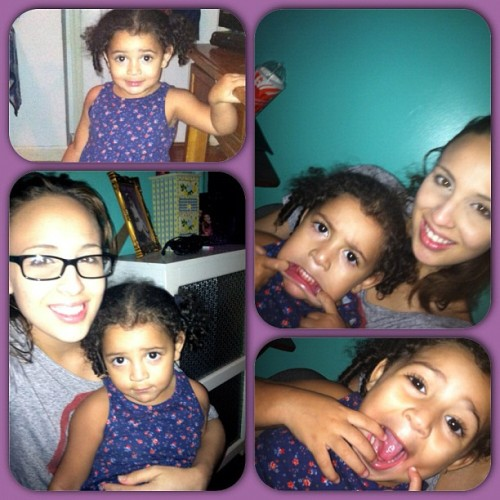 #instababy #cutie #bebe #faces #instaframes #purple #bonding #silly #igdaily #happy #funny #goofy #trend #tonight #fall2012 #dope #awesome #great #amazing #babygirl #instahub #raybans #smiles #like4like #muah #bronx #nyc #instacollage #tags4days (Taken with Instagram)