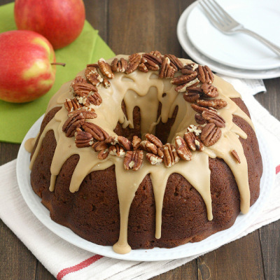 Apple-Cream Cheese Bundt Cake by Tracey's Culinary Adventures on Flickr.