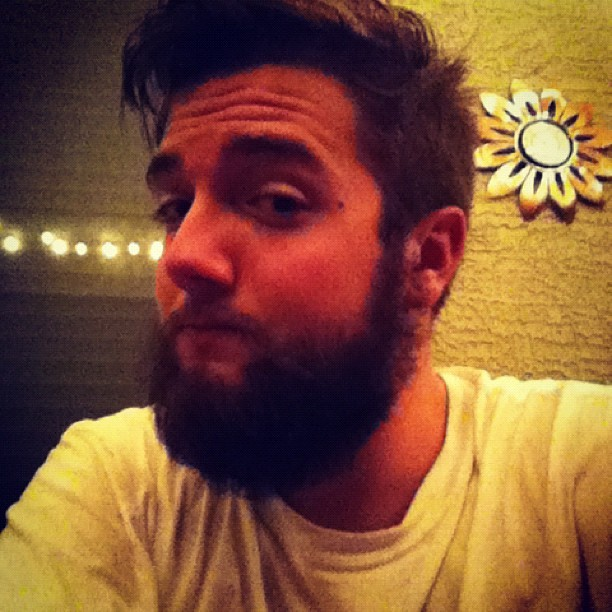 Beard is getting gnarly :3 Going to grow it super long. #fys #beard #intsabeard  (Taken with Instagram)
