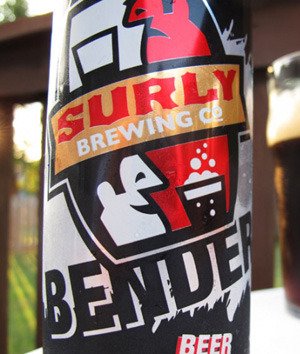 The 2012 NFL Beer Bible  Minnesota Vikings — Surly Bender The Recipe: This canned American brown ale deserves to be paired with a huge sandwich. Layer slices of smoked gouda and roasted turkey on a hoagie roll slathered with roasted-garlic aioli and topped with caramelized onions and baby arugula. —SZP