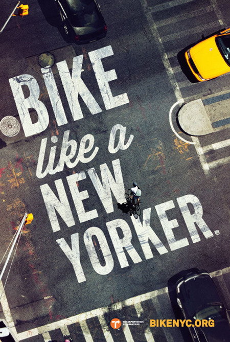 suspensefulgraphics:  Bike Like a New Yorker