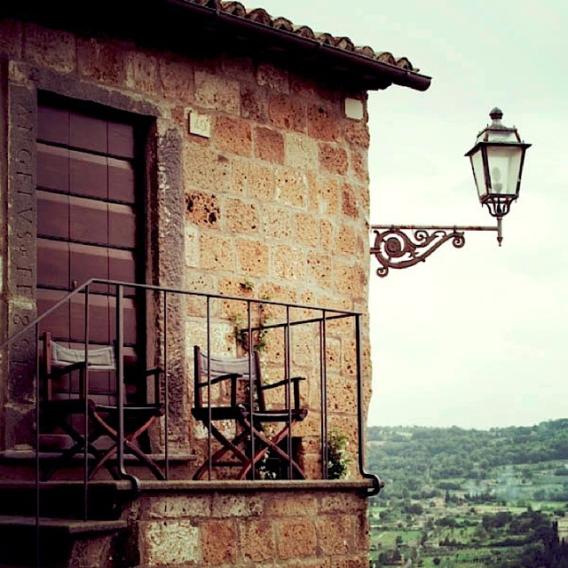 | ♕ |  Balcony in Orvieto - Italy  | by © .natasha.