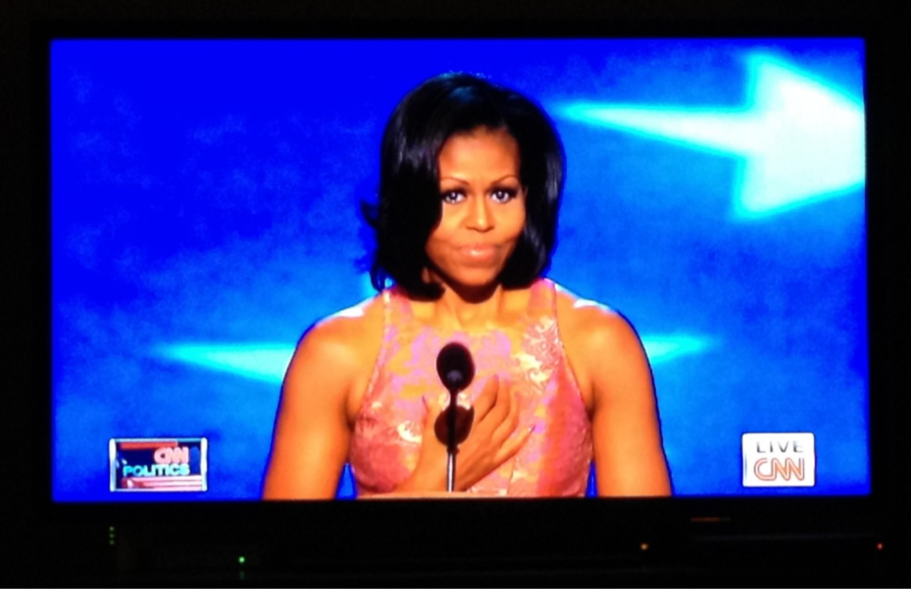 "Mama Obama ROCKED her speech tonight. We Love Michelle!!  ""Long Live the Lady""!!  #dnc2012 #michelleobama #dems #welovemichelle"