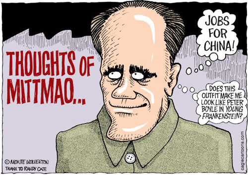 Monte Wolverton: Thoughts of MittMao
