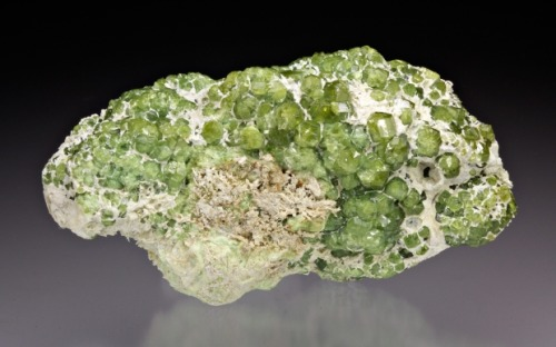 Andradite var. Demantoid from Italy by Dan Weinrich