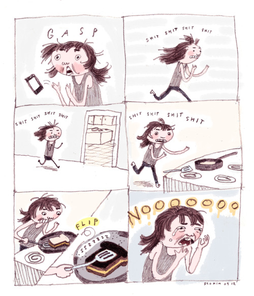 this is me, odio cocinar :c