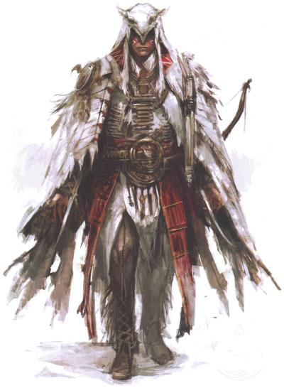 gamefreaksnz:  Assassin's Creed III Mohawk Armor Concept Art Source: AGB