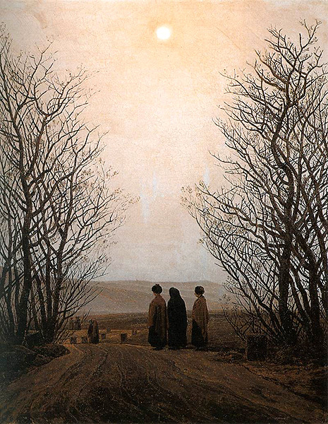 unhistorical:  September 5, 1774: Caspar David Friedrich is born.  Here is a man who has discovered the tragedy of landscape.   i'm sure i've reblogged this before but this guy is amazing
