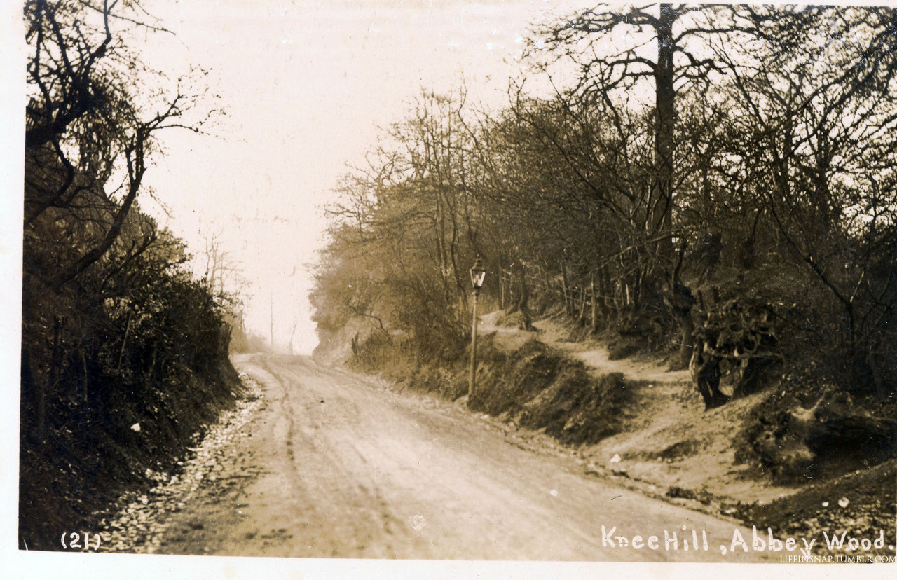 Knee Hill, ca. 1900, Abbey Wood.