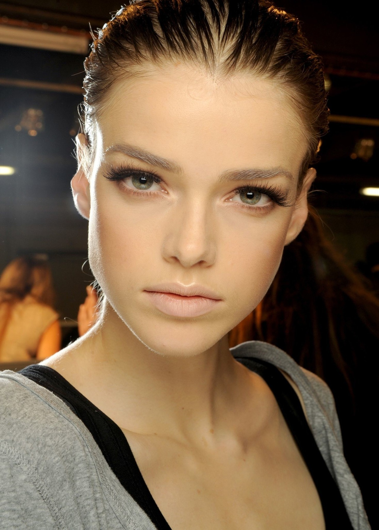 beauty-student:  Brilliant falsies.   Lanvin SS 11 beauty