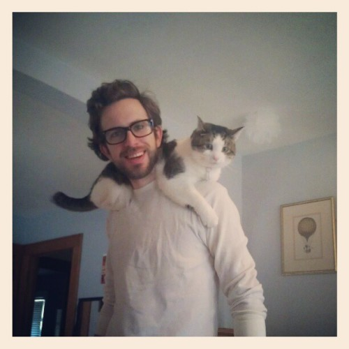 http://feront.tumblr.com/ and his kitty xoxo