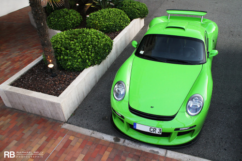 Green Goblin Starring: RUF CTR3 (by Raphaël Belly)