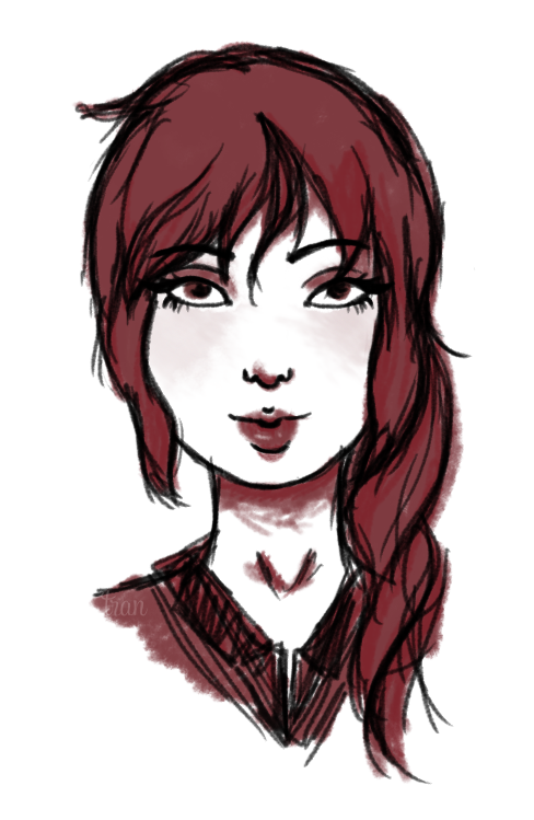 Just casually drawing other people's OCs when I should be doing Web Design & Type